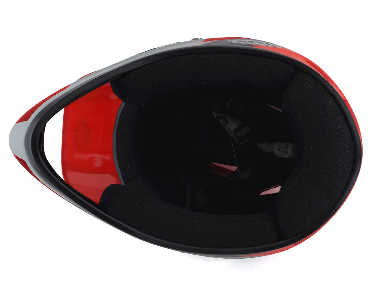 Bell Sanction Helmet (Crimson/Slate/Dark Grey) (L)