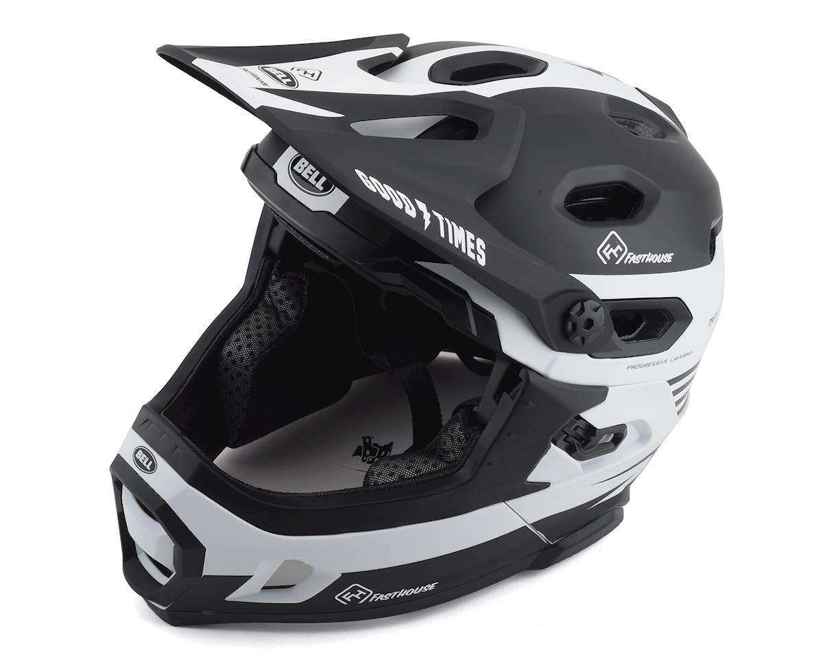 Bell Super DH MIPS Helmet (Matte Black/White) (S)