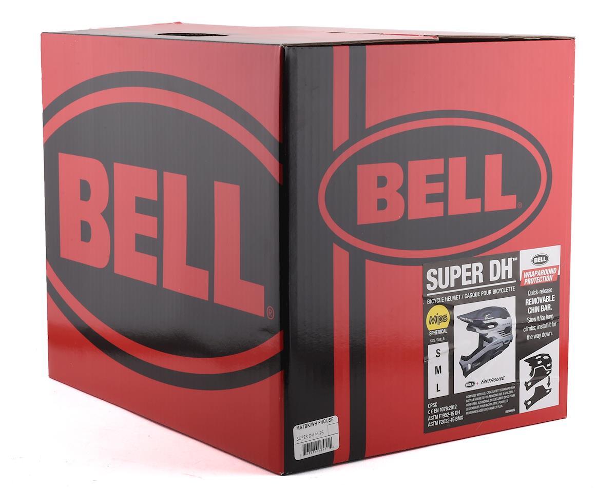 Image 5 for Bell Super DH MIPS Helmet (Matte Black/White) (S)