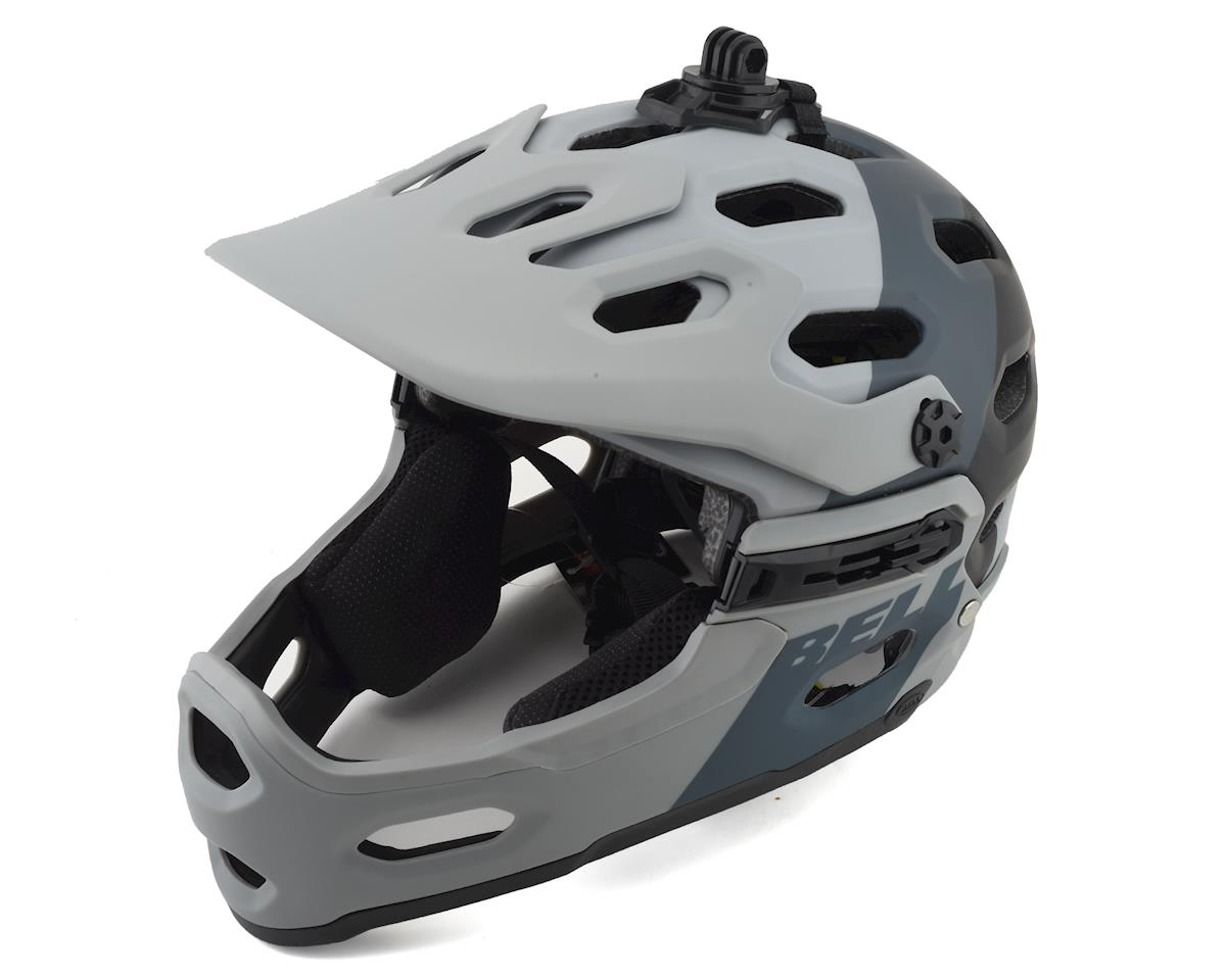 Bell Super 3R MIPS Convertible MTB Helmet (Grey/Gunmetal)