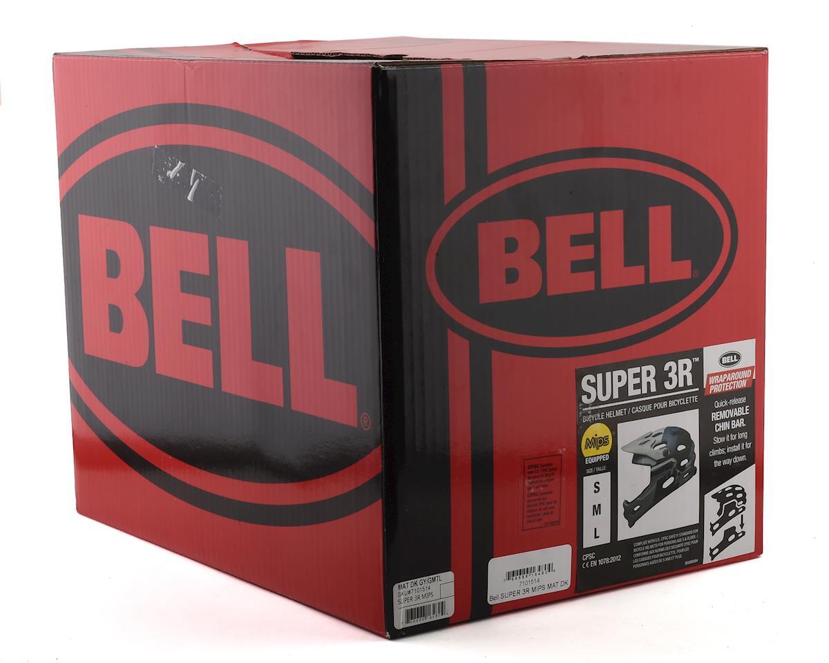 Bell Super 3R MIPS Convertible MTB Helmet (Grey/Gunmetal) (S)