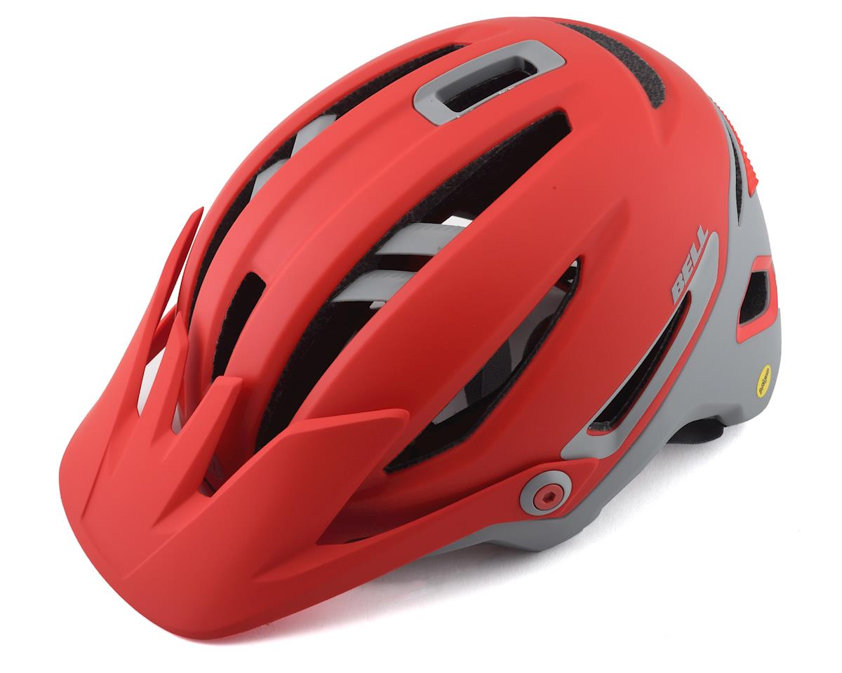 Bell Sixer MIPS Mountain Bike Helmet (Matte Crimson/Dark Grey)