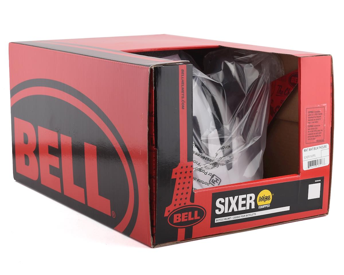 Bell Sixer MIPS Mountain Bike Helmet (Stripes Matte White/Black) (M)