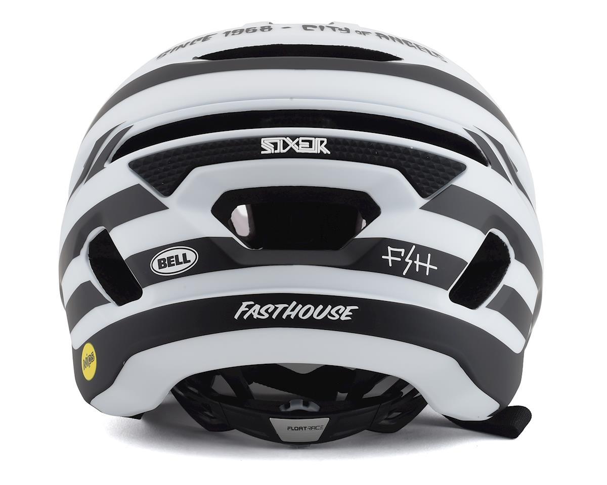 Bell Sixer MIPS Mountain Bike Helmet (Stripes Matte White/Black) (L)