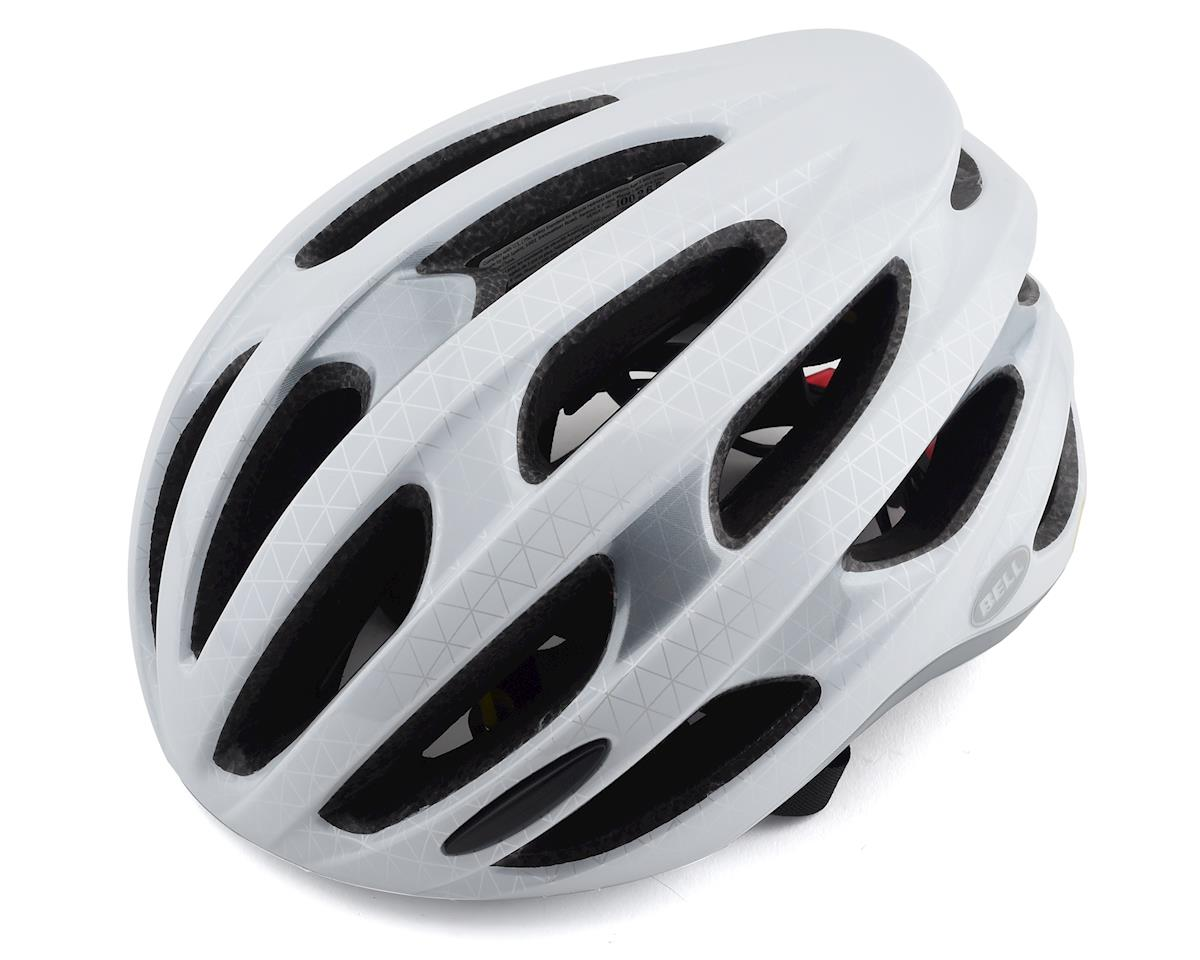 Bell Formula LED MIPS Road Helmet (White/Silver/Black)