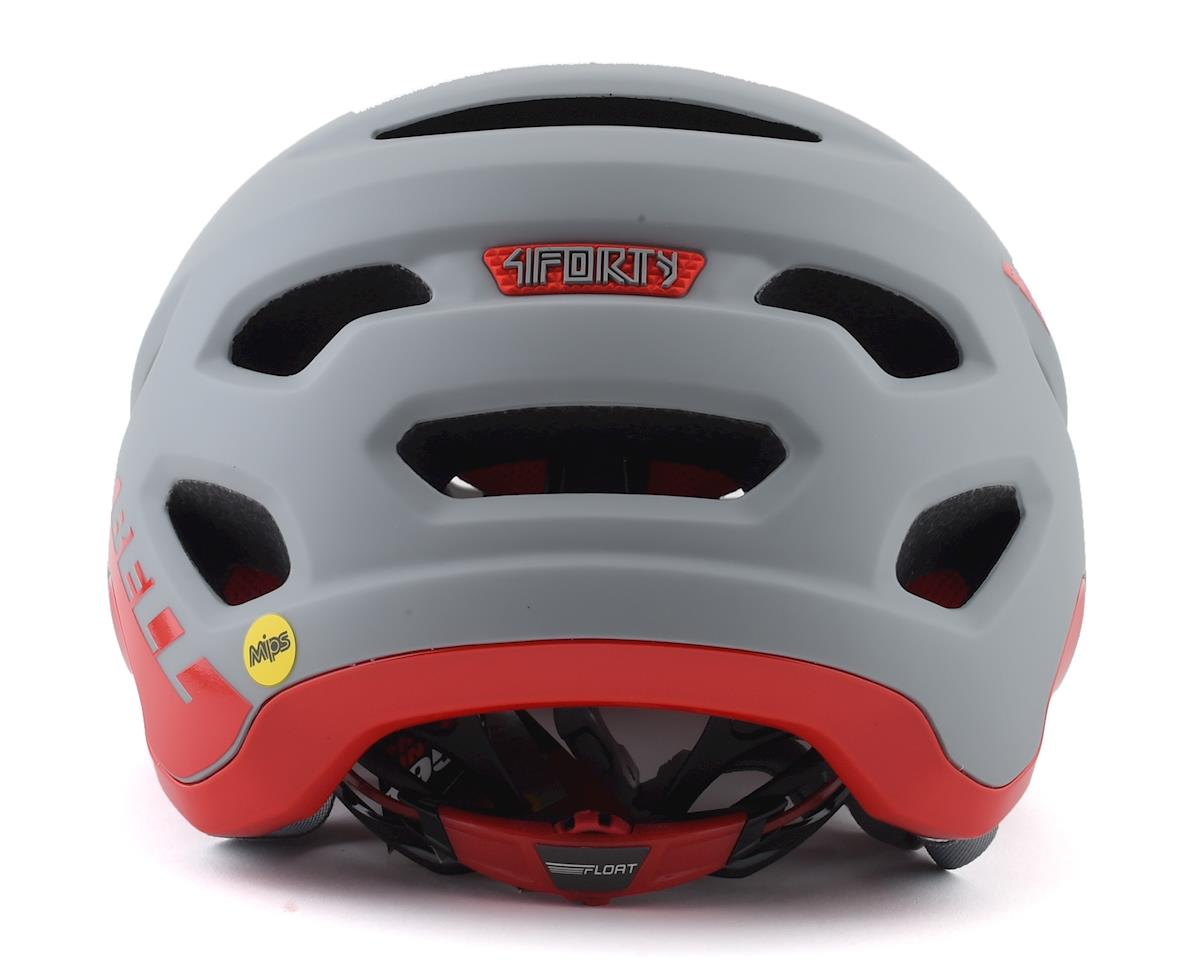 Image 2 for Bell 4Forty MIPS Mountain Bike Helmet (Grey/Crimson) (S)