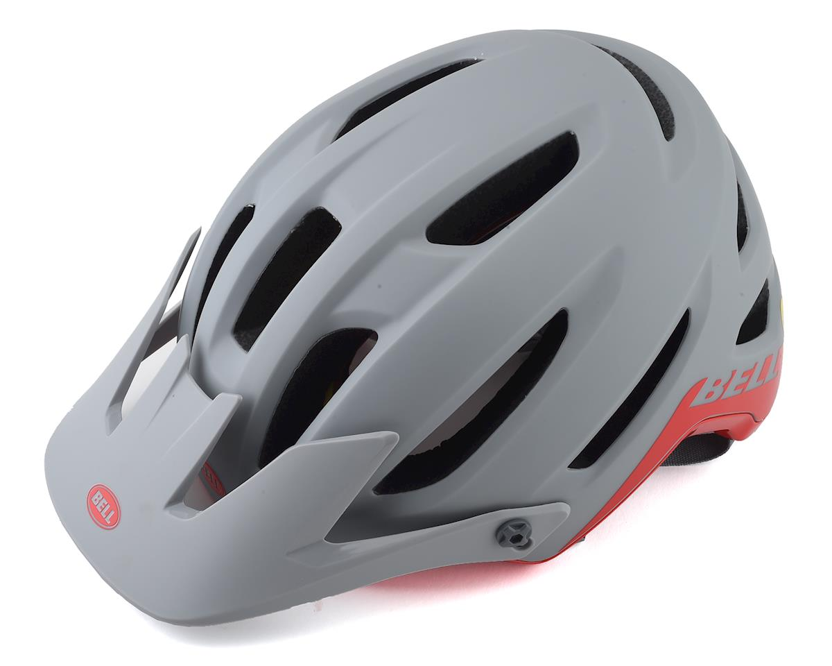 Bell 4Forty MIPS Mountain Bike Helmet (Grey/Crimson) (M)