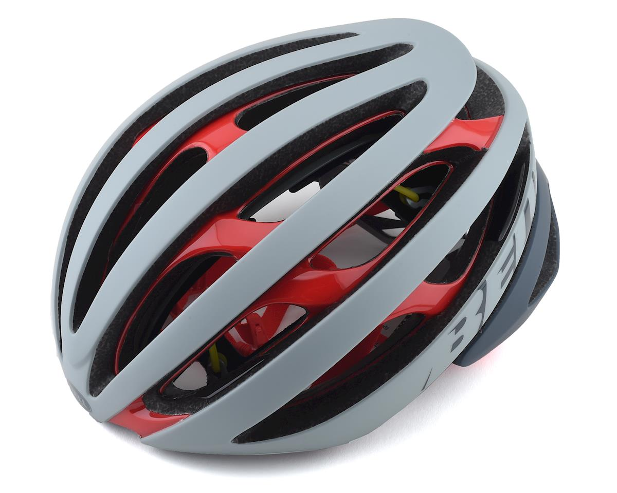 Bell Z20 MIPS Road Helmet (Grey/Crimson) (M)