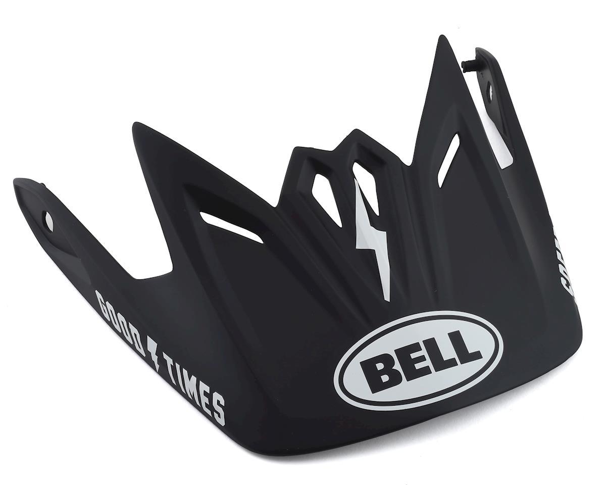 Bell Full-9 Fusion Replacement Visor (Matte Black/White)