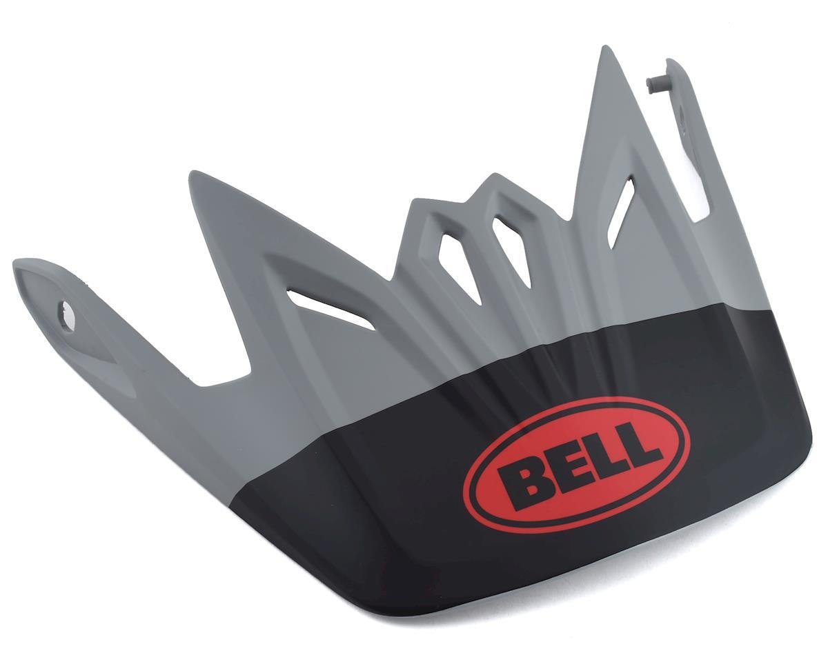 Bell Full-9 Fusion Replacement Visor (Grey/Crimson)