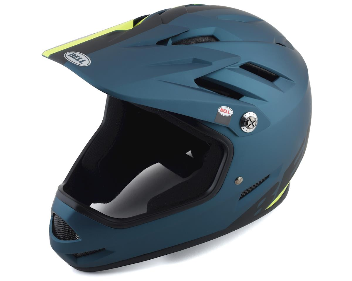 Bell Sanction Helmet (Blue/Hi Viz) (L)