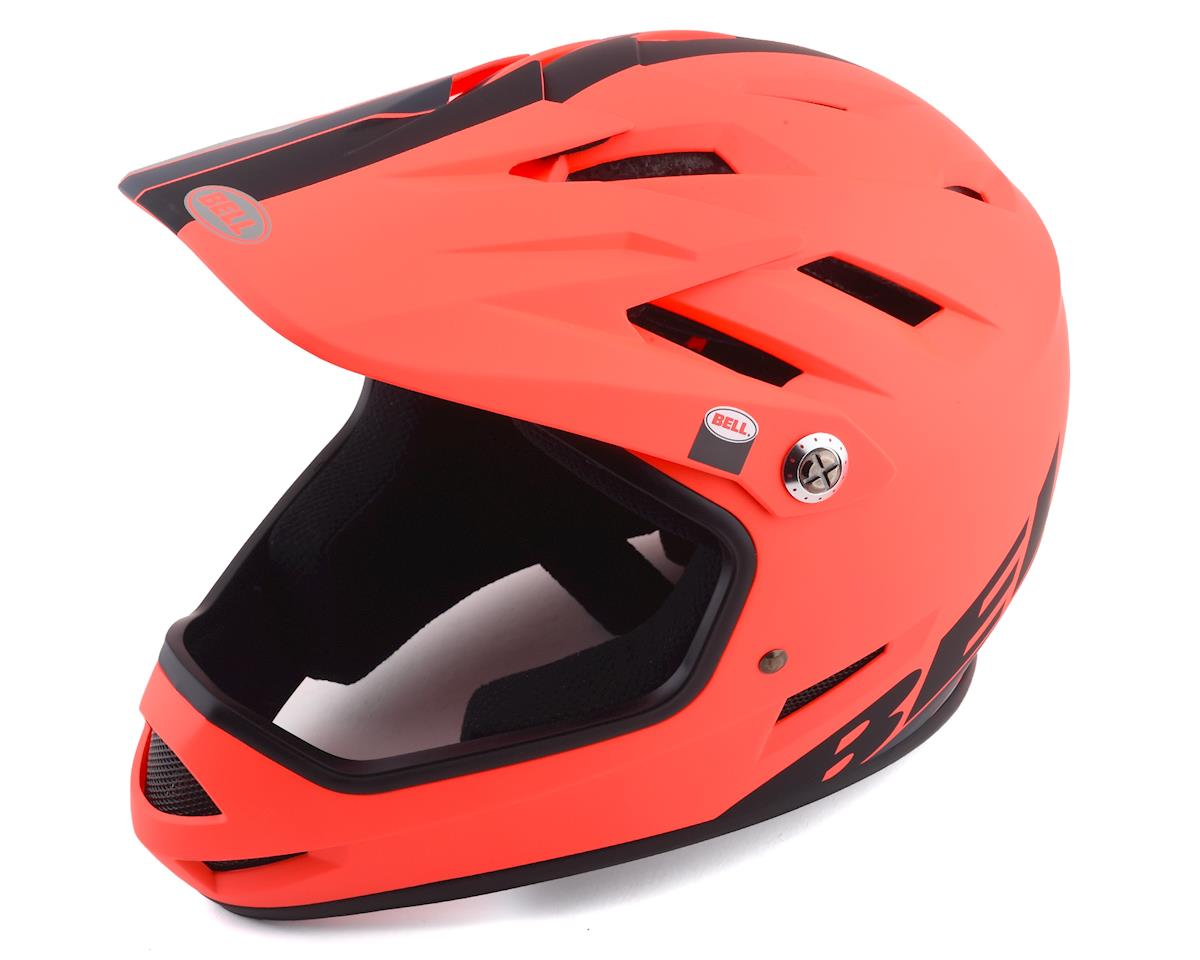 Bell Sanction Helmet (Orange/Black) (L)