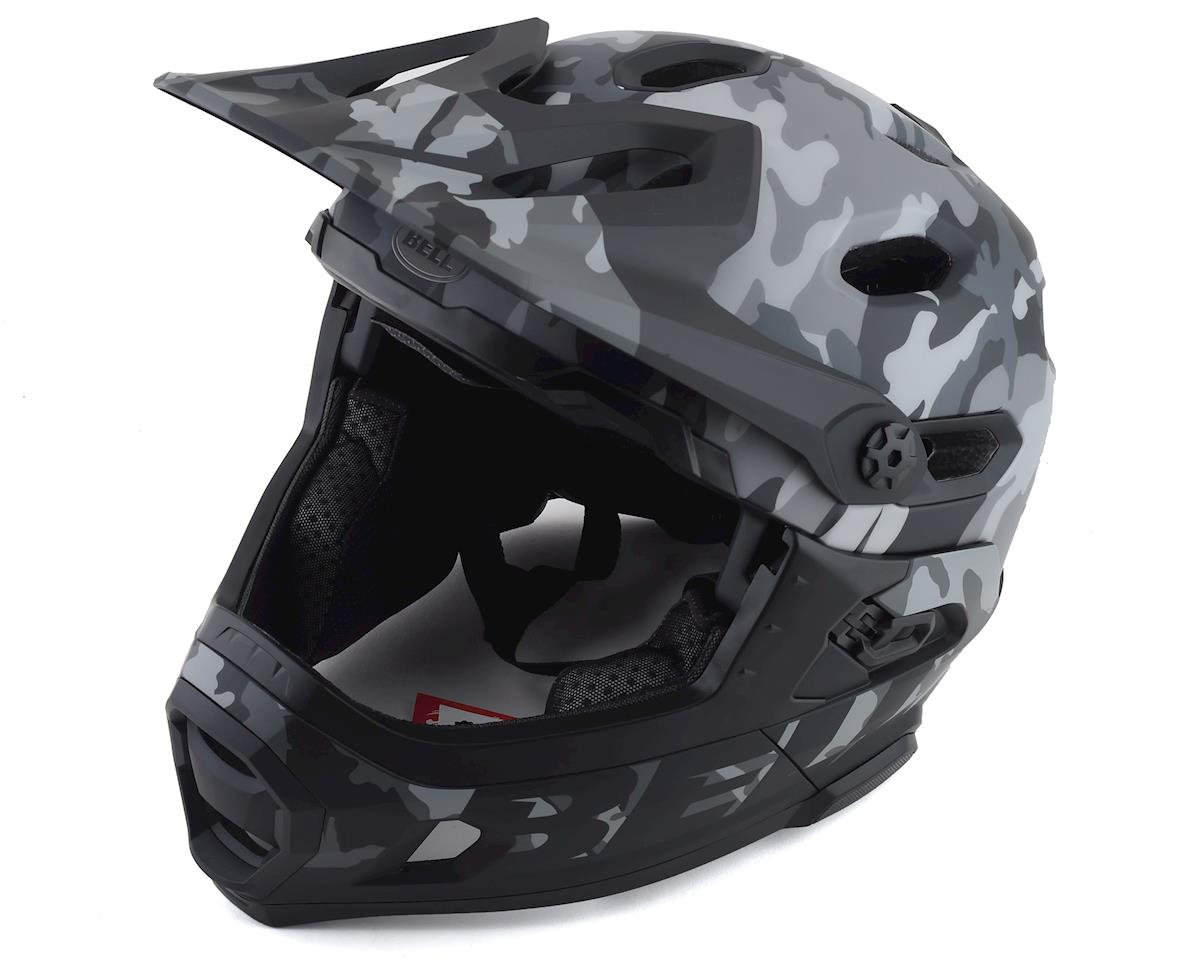 Image 1 for Bell Super DH MIPS Helmet (Black Camo) (S)