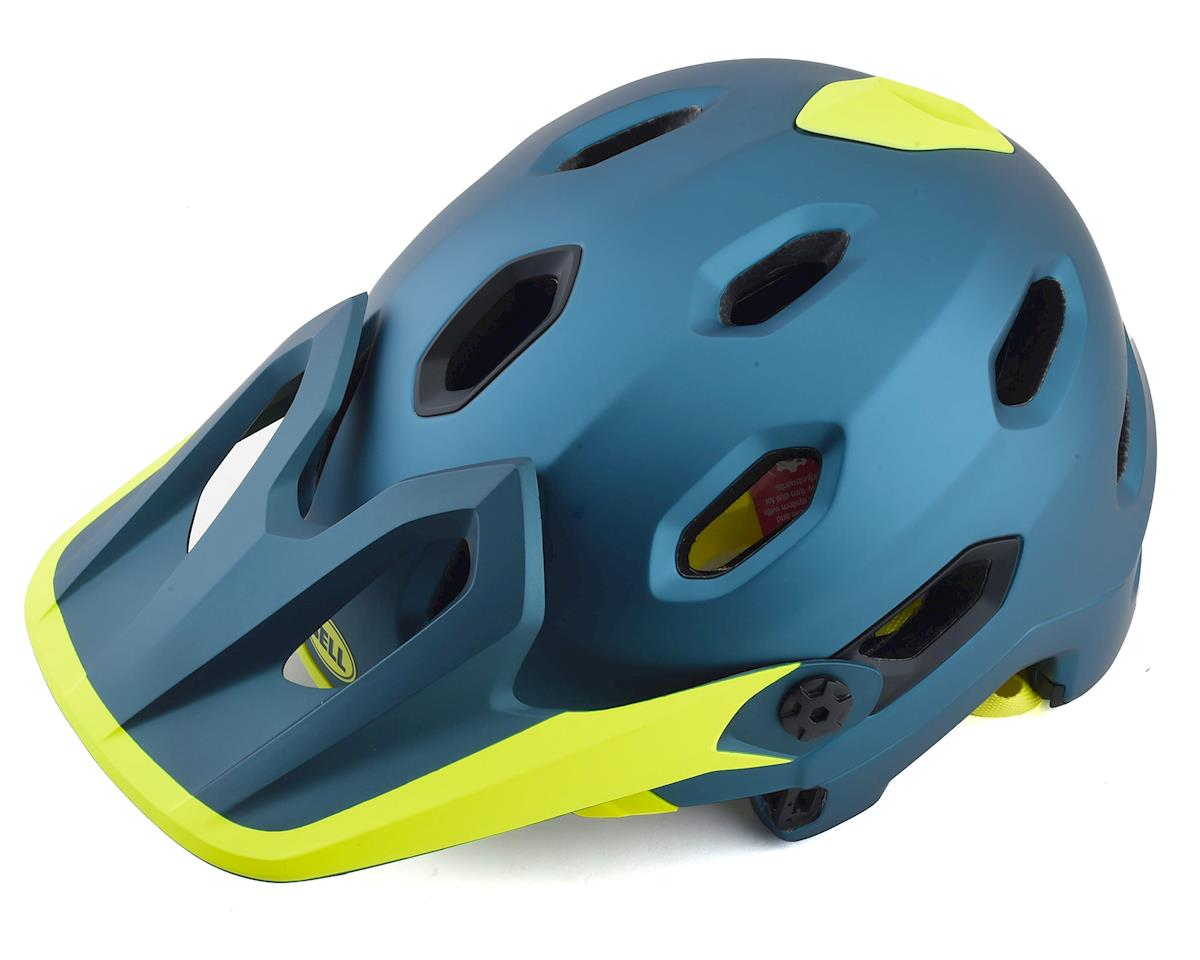 Image 4 for Bell Super DH MIPS Helmet (Blue/Hi Viz) (S)