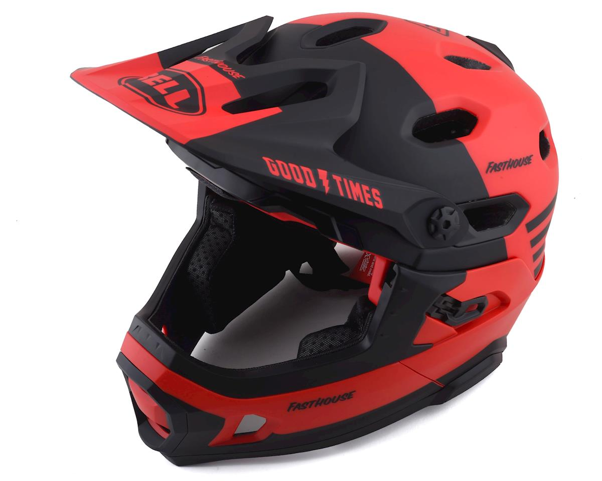 Bell Super DH MIPS Helmet (Fathouse Red/Black) (S)