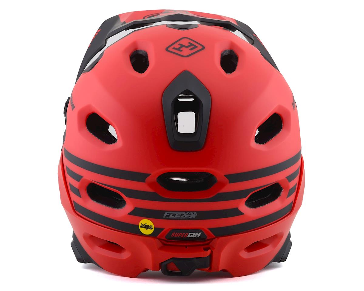 Image 2 for Bell Super DH MIPS Helmet (Fathouse Red/Black) (S)