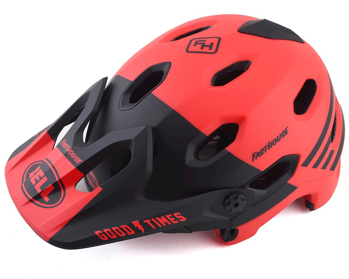 Bell Super DH MIPS Helmet (Fathouse Red/Black) (L)