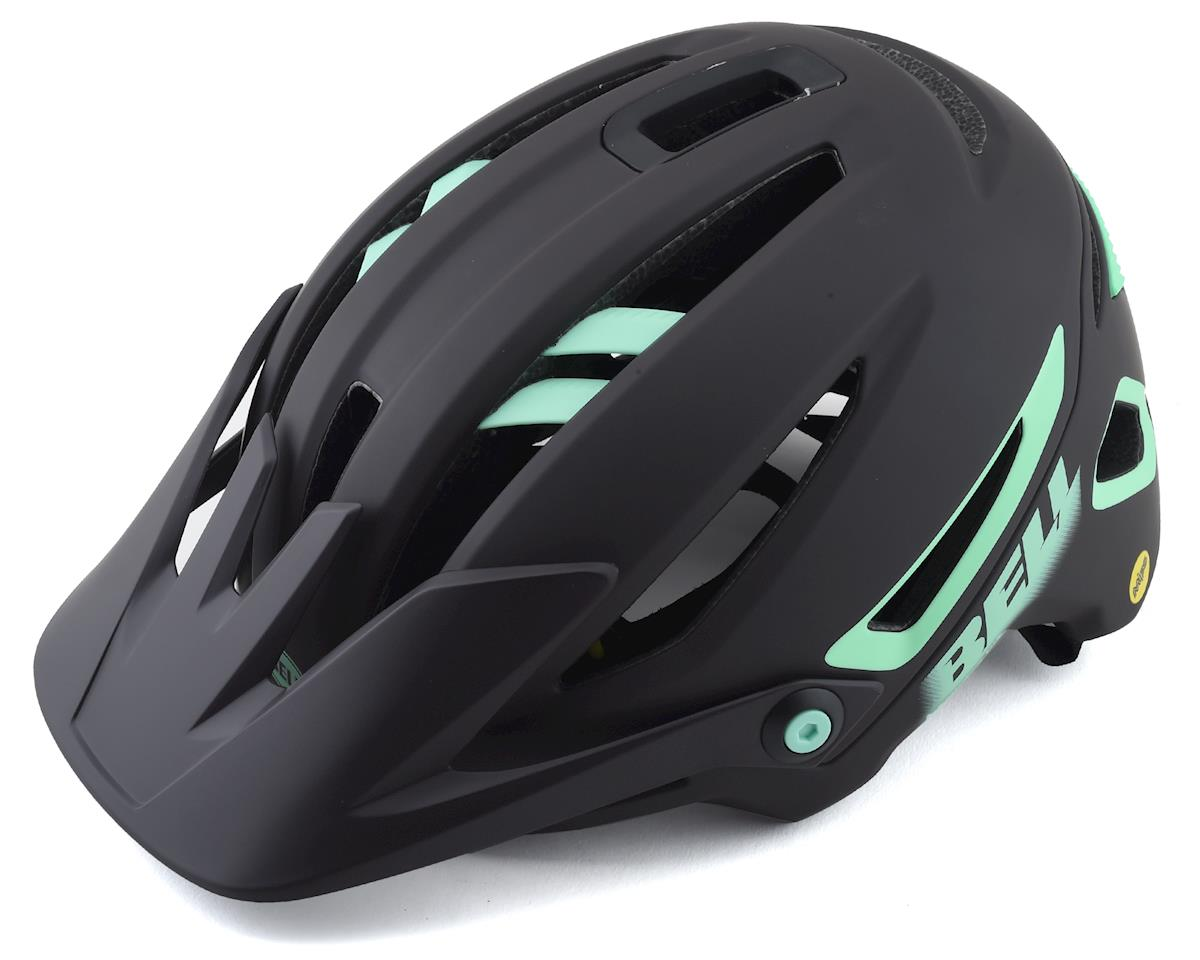 Bell Sixer MIPS Mountain Bike Helmet (Dark Brown/Mint) (S)