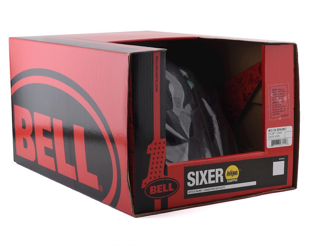 Bell Sixer MIPS Mountain Bike Helmet (Dark Brown/Mint) (L)