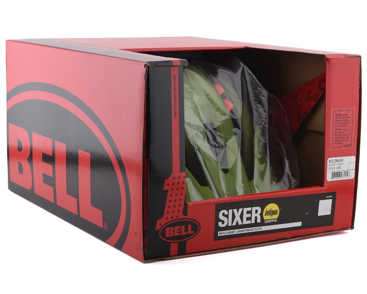Bell Sixer MIPS Mountain Bike Helmet (Green/Infrared) (S)