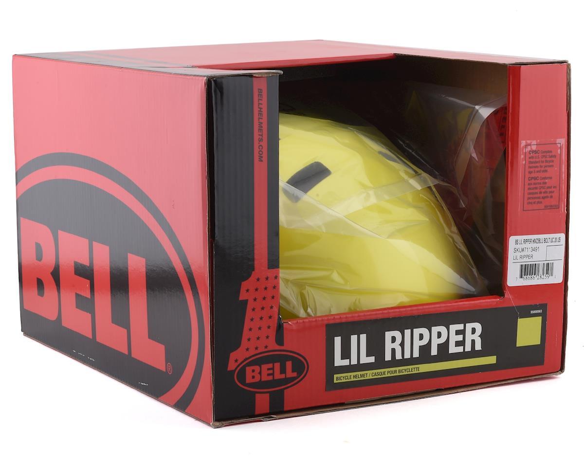 Bell Lil Ripper (Hi Viz/Blue Bolt) (Universal Child)