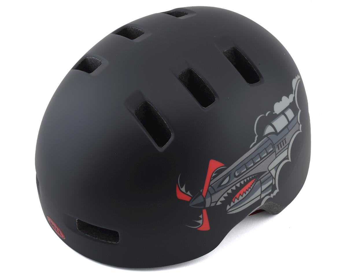 Bell Lil Ripper Helmet (Matte Black Bomber) (Universal Child)