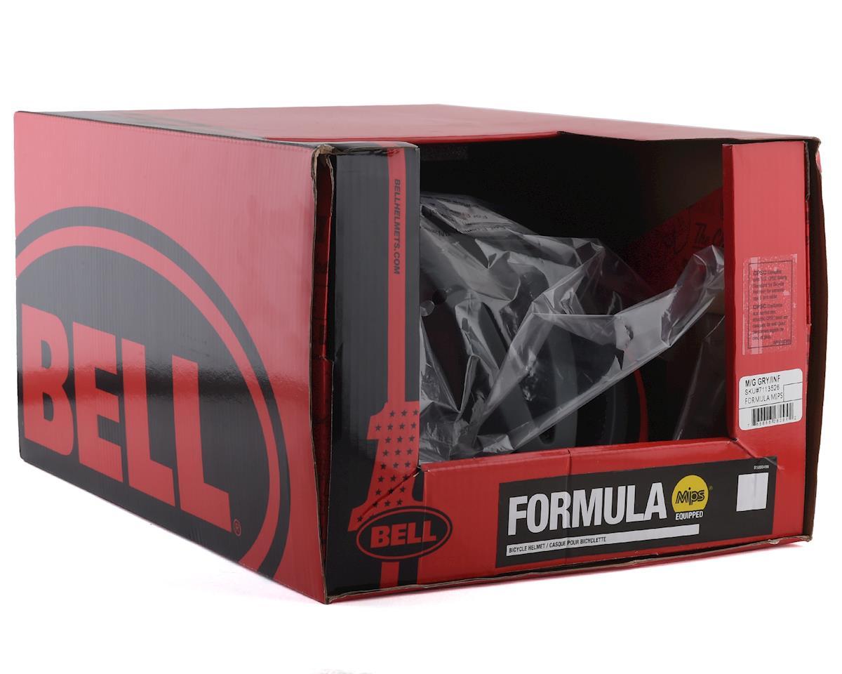 Bell Formula MIPS Road Helmet (Grey/Infrared) (M)