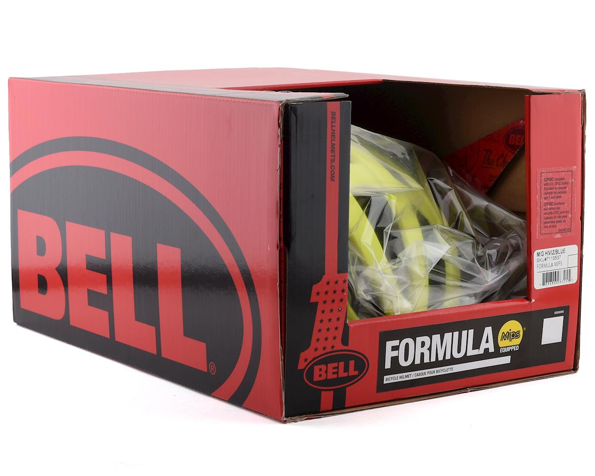 Bell Formula MIPS Road Helmet (Hi Viz/Blue) (M)