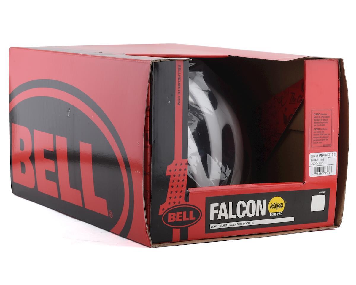 Bell Falcon MIPS Road Helmet (White/Grey) (L)
