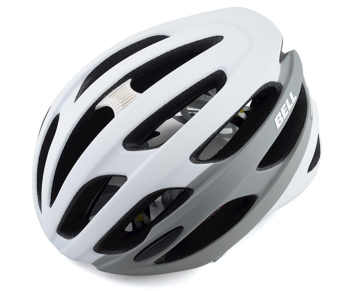 Bell Falcon MIPS Road Helmet (White/Grey) (XL)