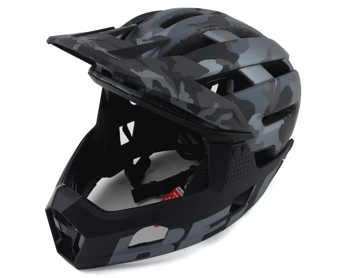 Bell Super Air R MIPS Helmet (Black Camo) (M)