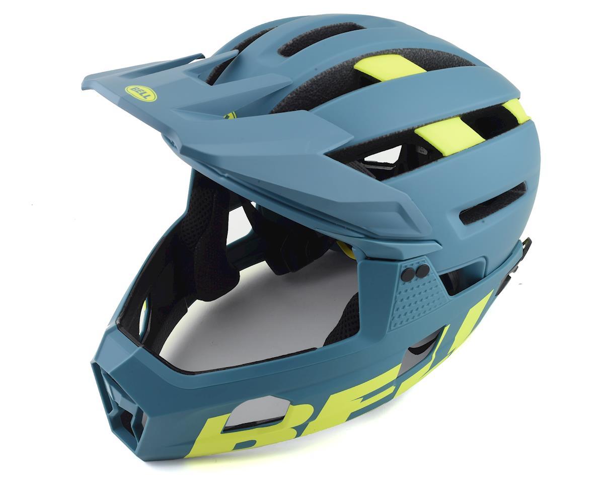 Bell Super Air R MIPS Helmet (Blue/Hi Viz) (L)