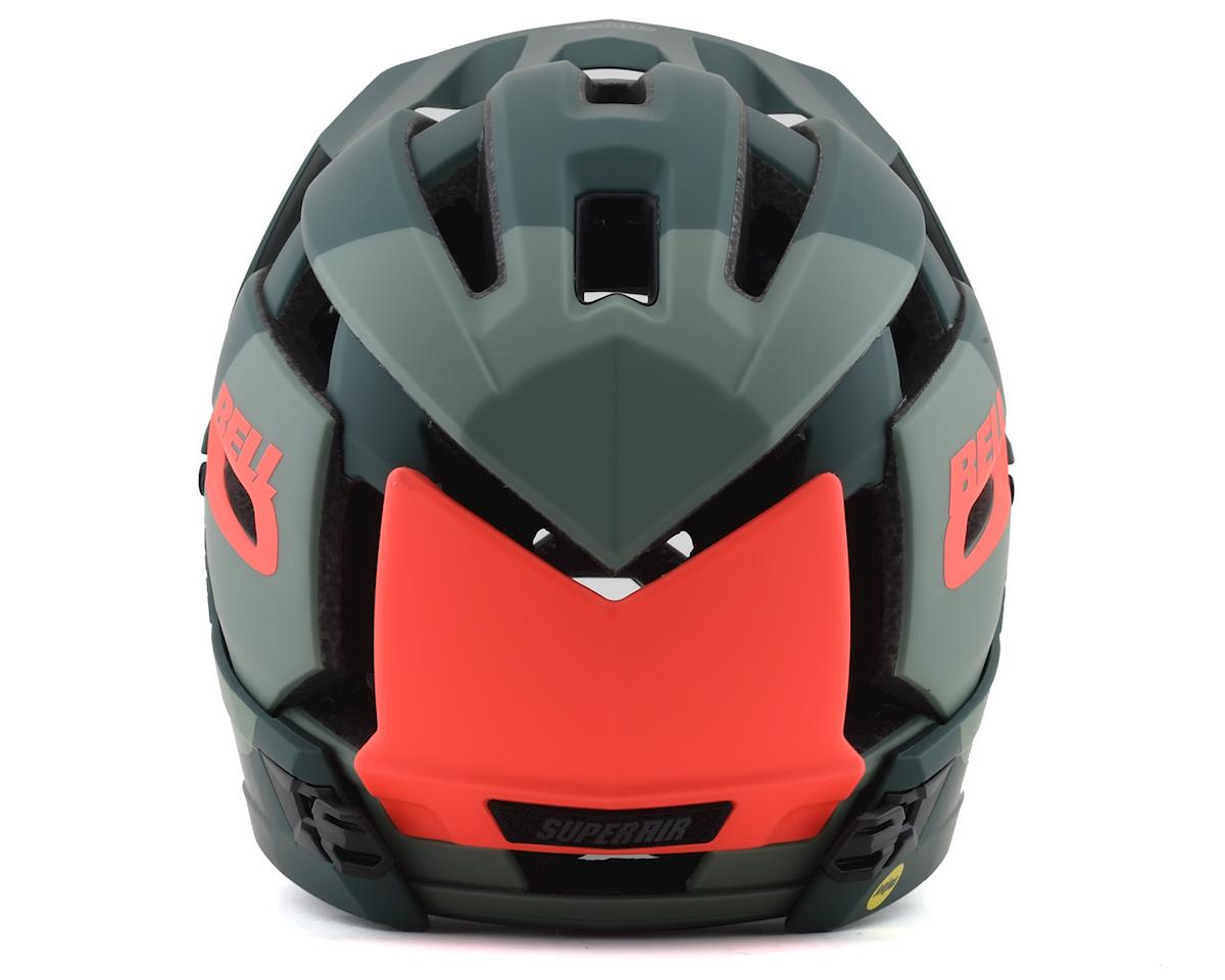 Bell Super Air R MIPS Helmet (Green/Infrared) (M)