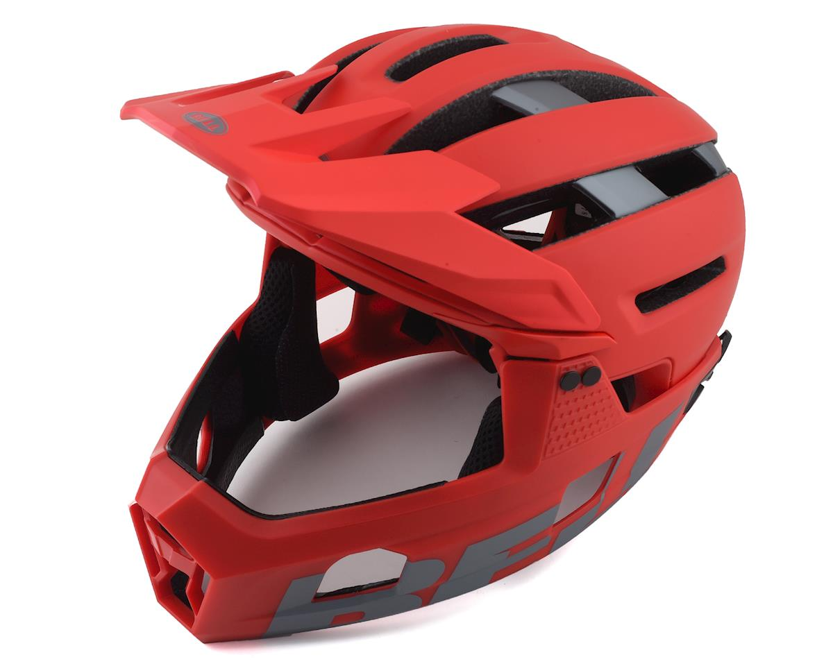 Bell Super Air R MIPS Helmet (Red/Grey) (S)