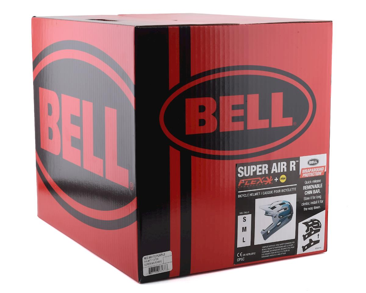Bell Super Air R MIPS Helmet (White/Purple) (S)