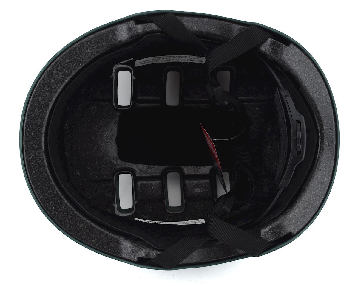 Image 3 for Bell Local BMX Helmet (Matte Green/Black Skull) (L)