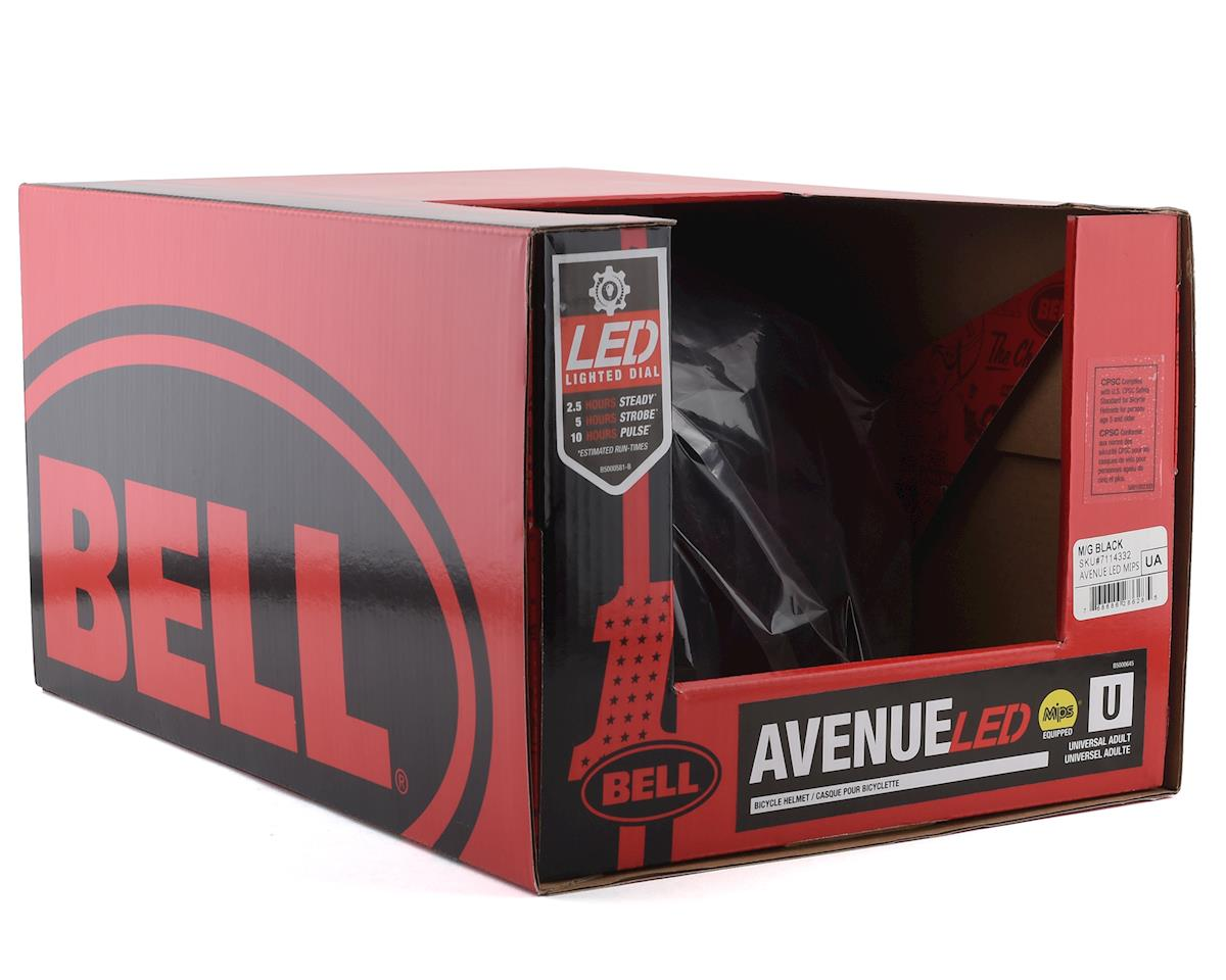 Image 5 for Bell Avenue LED MIPS Helmet (Black) (Universal Adult)