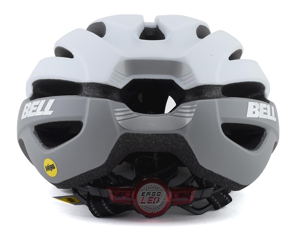 Bell Avenue LED MIPS Helmet (White/Grey) (Universal Adult)