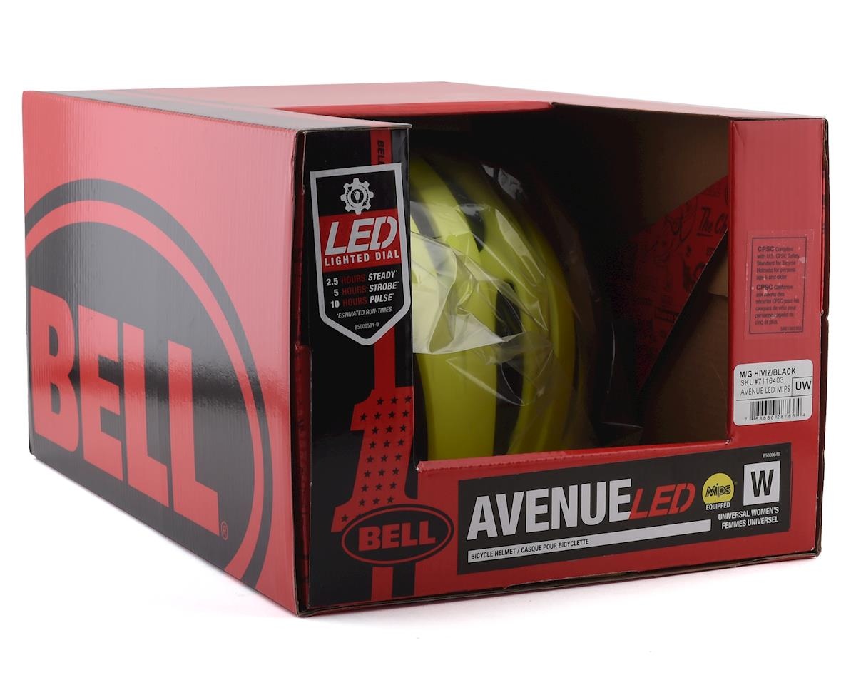 Bell Avenue LED MIPS Women's Helmet (HiViz/Black) (Universal Women's)