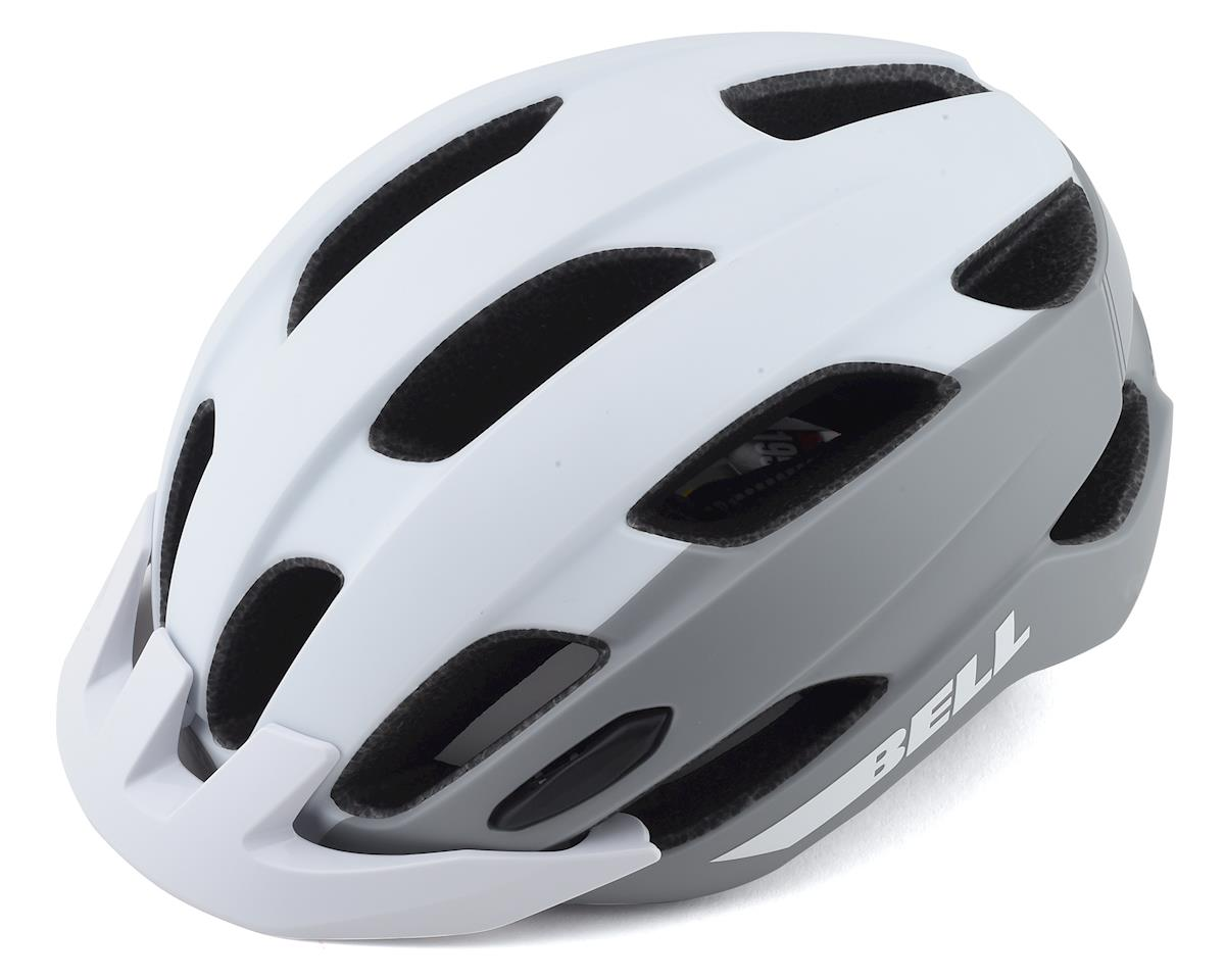 Bell Trace Helmet (Matte White/Silver) (Universal Adult)