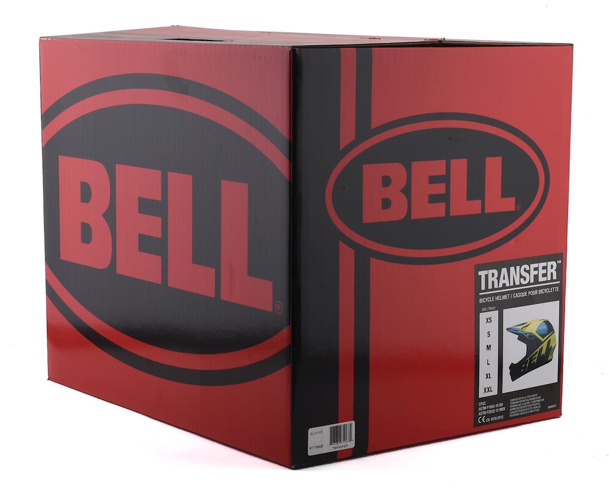 Bell Transfer Full Face Helmet (Blue/HiViz) (S)