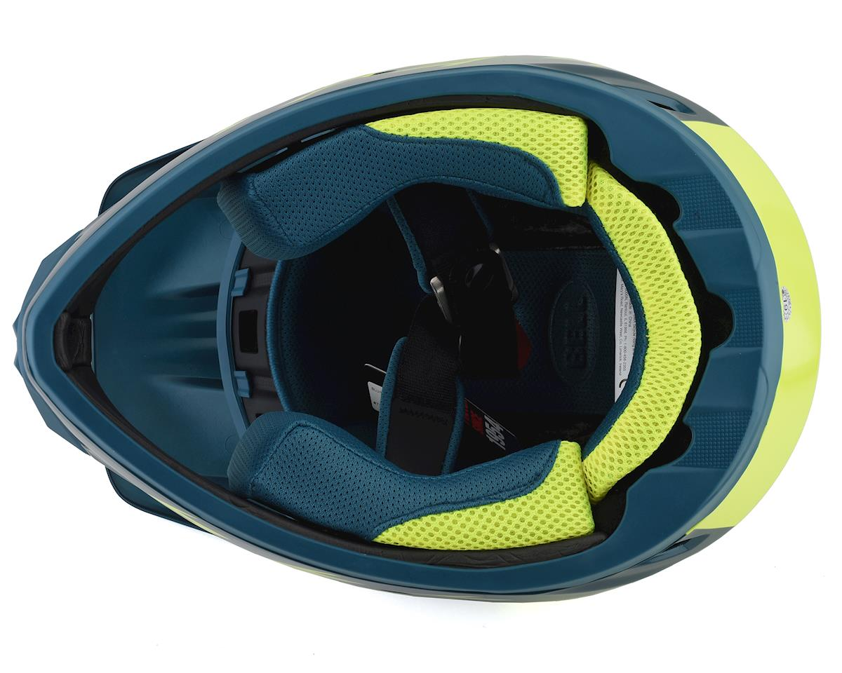 Bell Transfer Full Face Helmet (Blue/HiViz) (M)