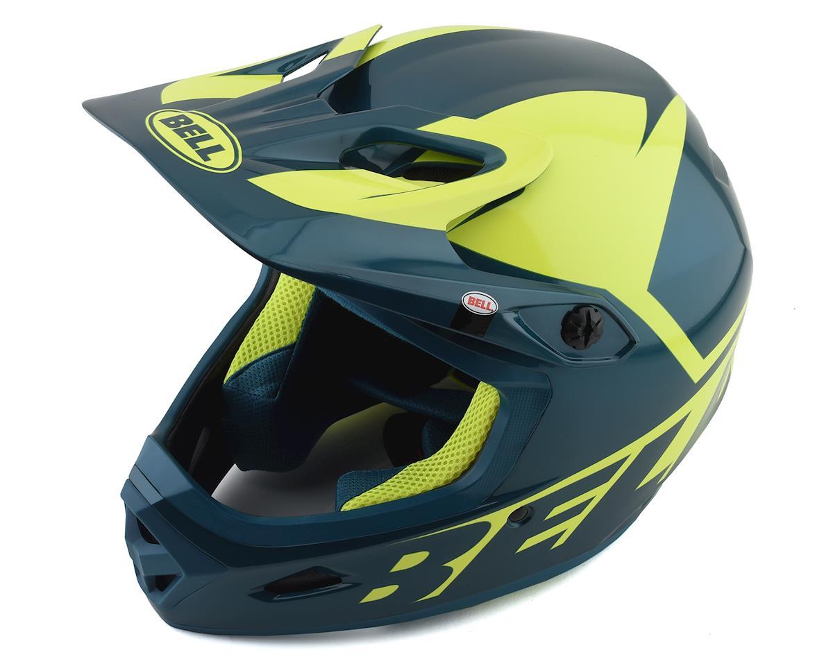Bell Transfer Full Face Helmet (Blue/HiViz) (L)