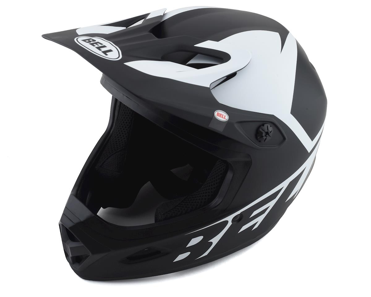 Bell BS Transfer Full Face Helmet (Black/White) (M)