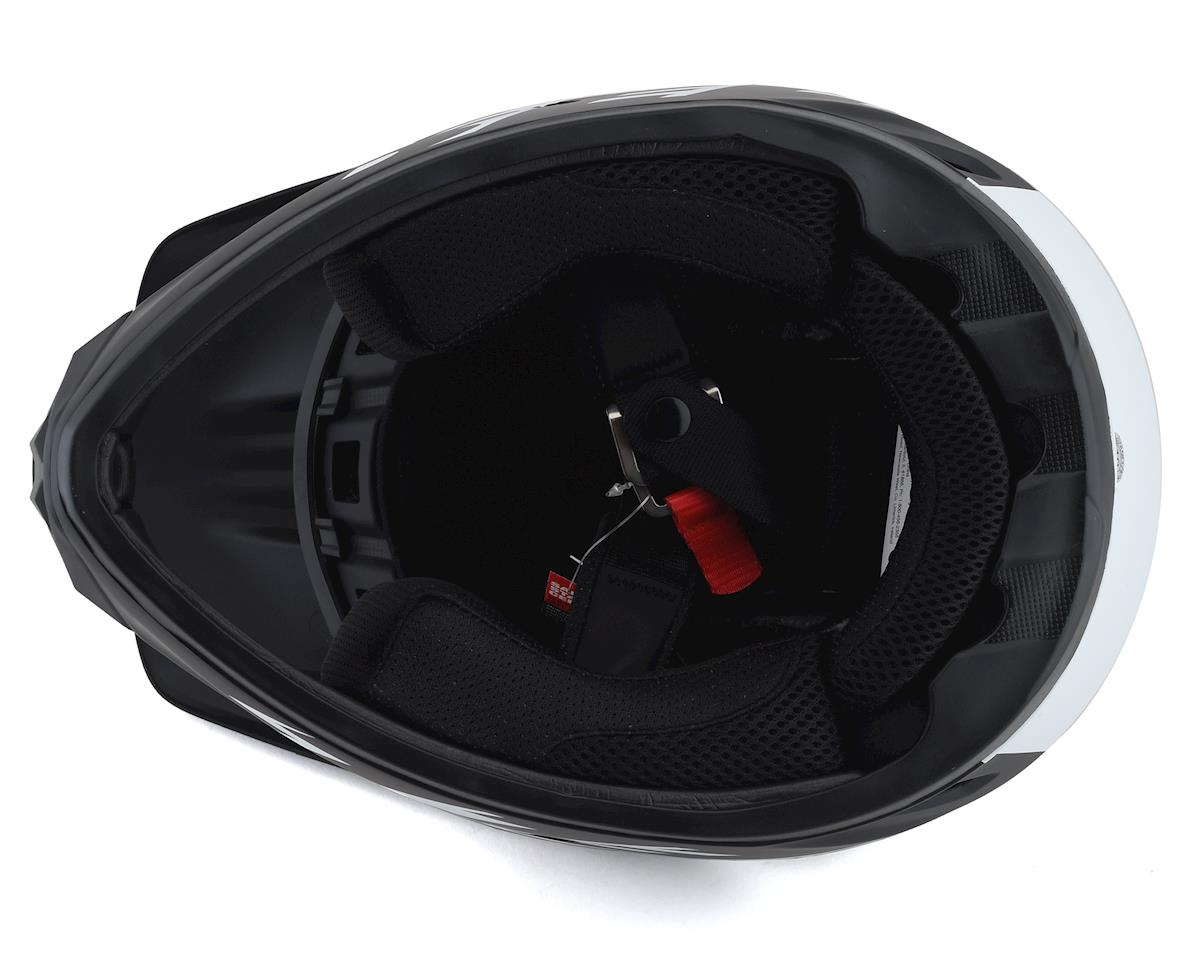 Bell BS Transfer Full Face Helmet (Black/White) (M)