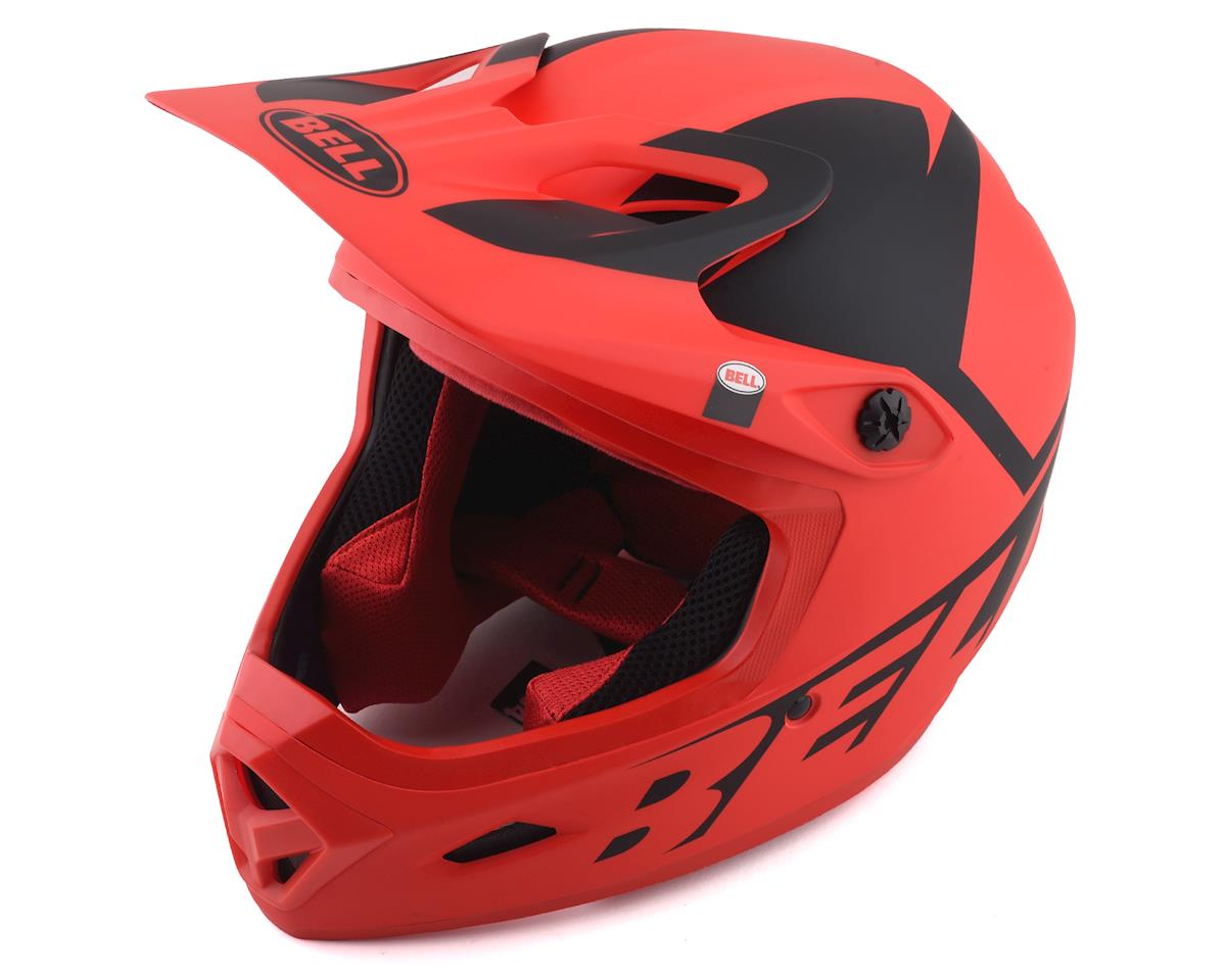 Bell Transfer Full Face Helmet (Red/Black) (M)