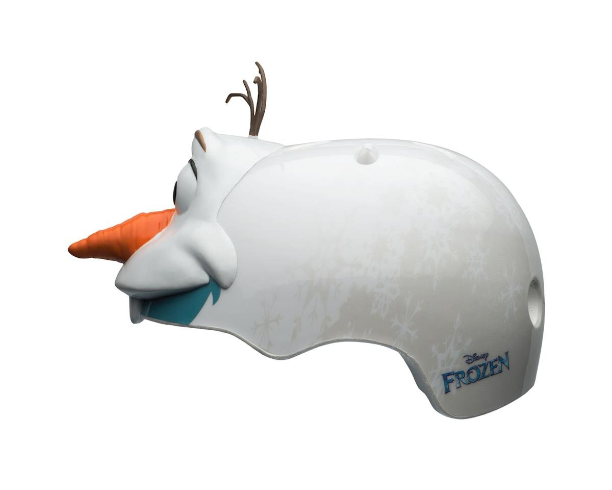 Image 3 for Bell Disney Frozen 3D Olaf Multisport Toddler Helmet (White)