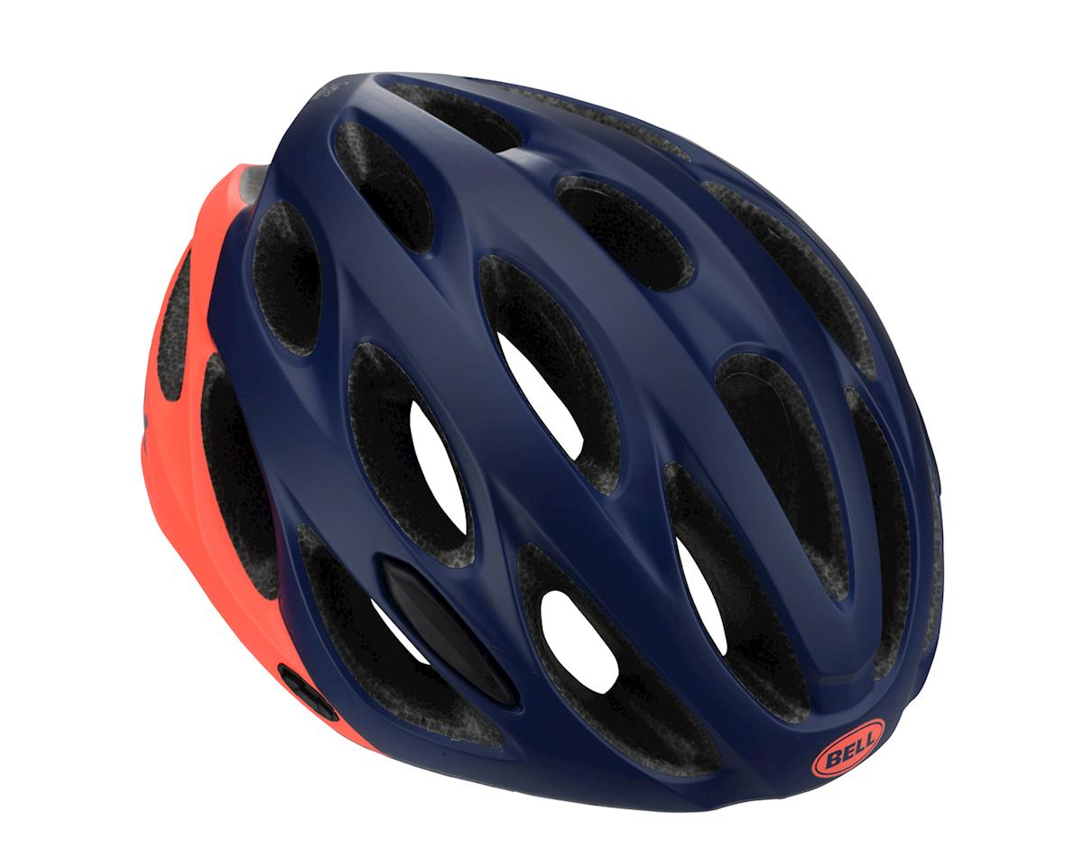 Image 1 for Bell Tempo Women's Helmet (Deep Blue/Coral) (One Size)
