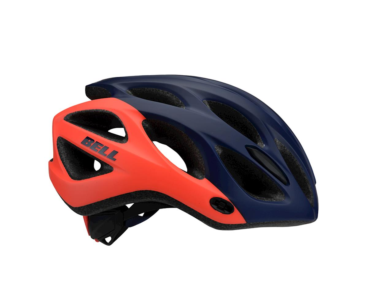Image 2 for Bell Tempo Women's Helmet (Deep Blue/Coral) (One Size)