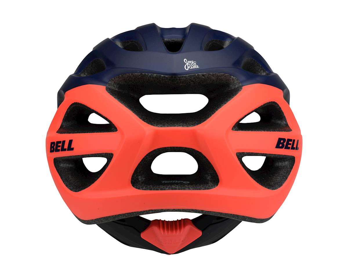 Image 3 for Bell Tempo Women's Helmet (Deep Blue/Coral) (One Size)